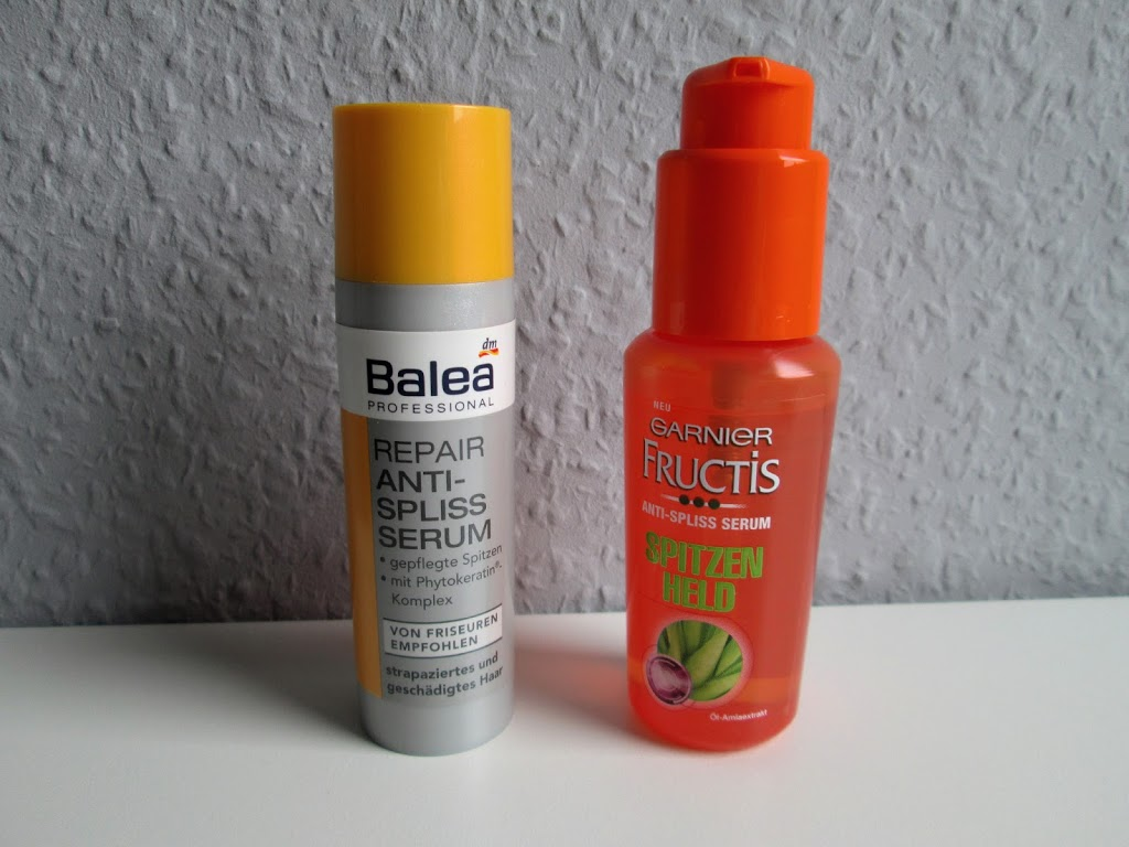 Garnier Fructis – Spitzen Held vs. Balea – Repair Anti-Spliss Serum
