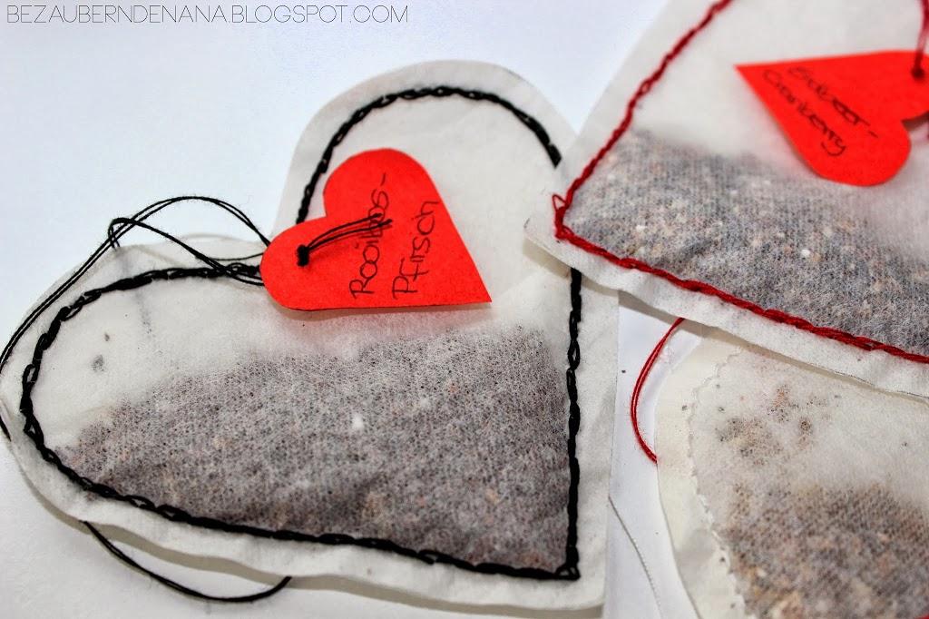 [DIY] Herz Teebeutel
