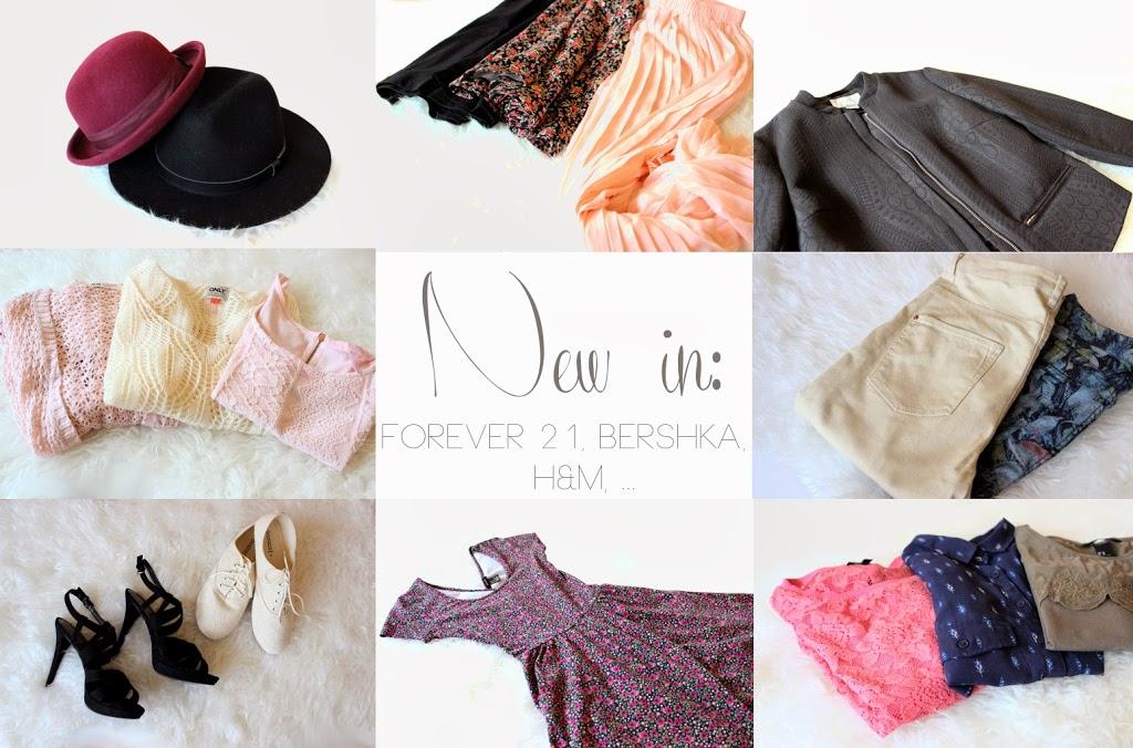 New in: Forever 21, Bershka, H&M, …