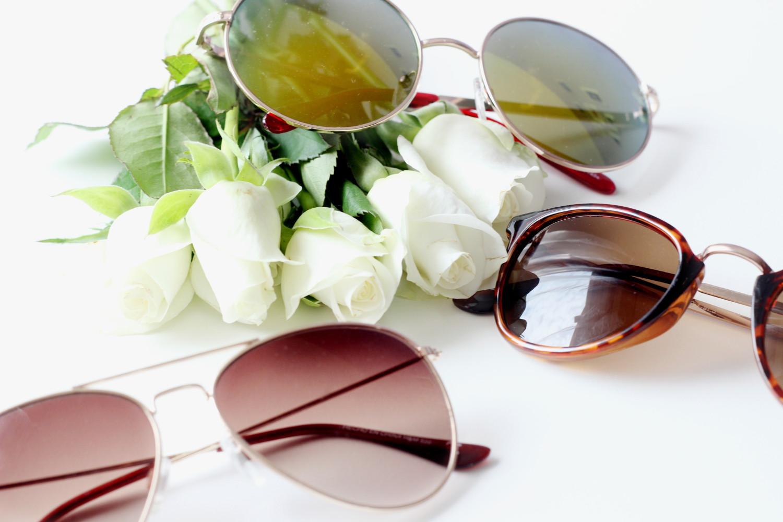 bezaubernde nana, fashionblog, modeblog, beautyblog, germany, sonnenbrillen, runde sonnenbrille von new look, hollywood sonnenbrille von cheapasssunglasses, pilotenbrille von h&m