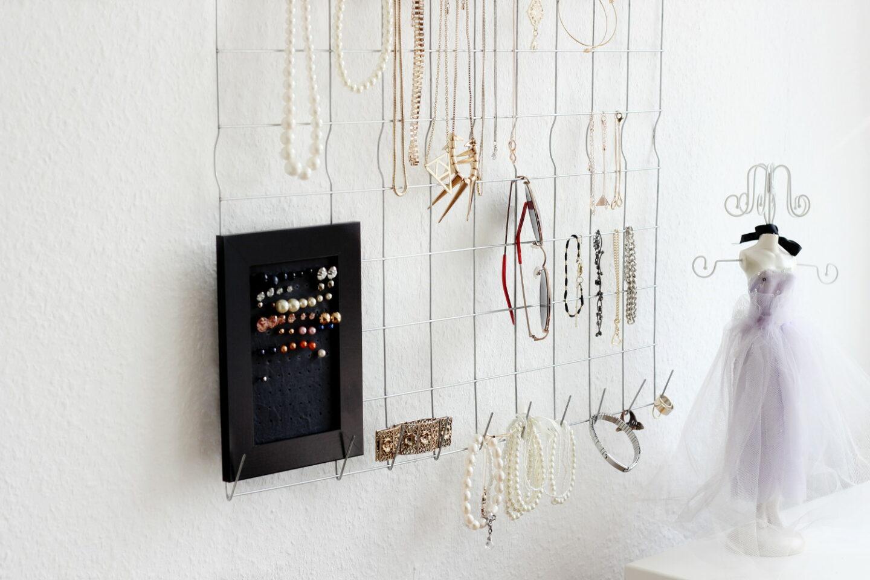 DIY: Aufbewahrung für Schmuck und Accessoires