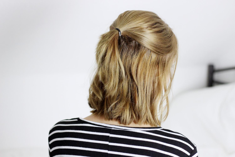Schulterlange haare hinten