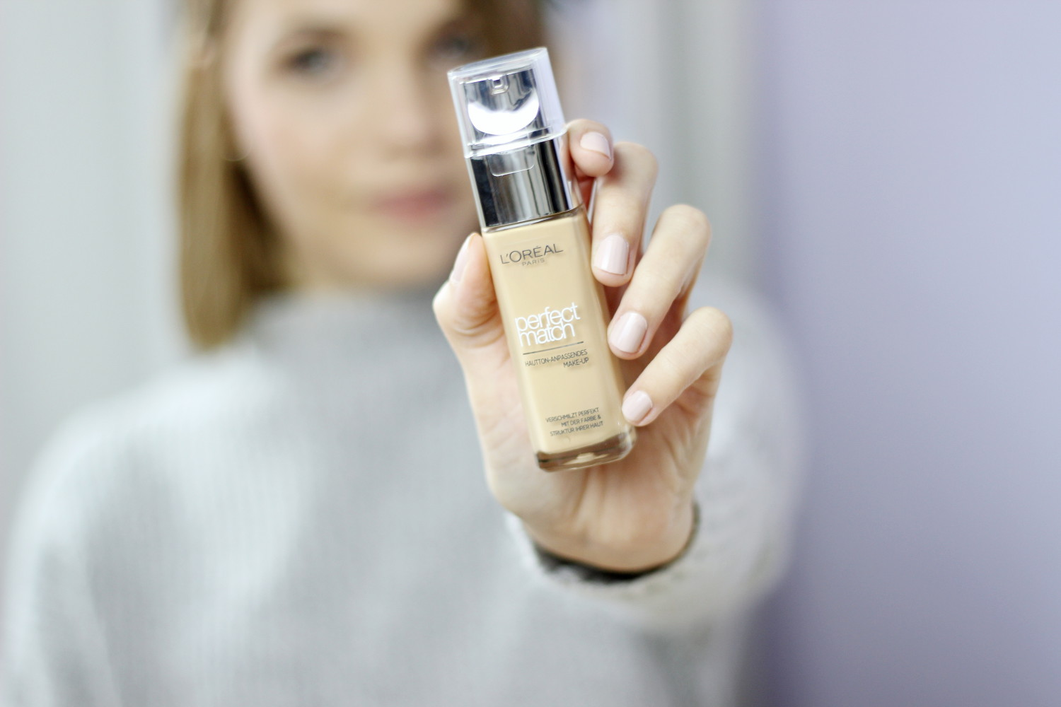 bezaubernde nana, bezauberndenana.de, fashionblog, beautyblog, germany, deutschland, beauty, kostmetik, make up, L'Oréal Perfect Match, mein perfect match, loreal perfect match test, erfahrung, review, rose beige, golden beige