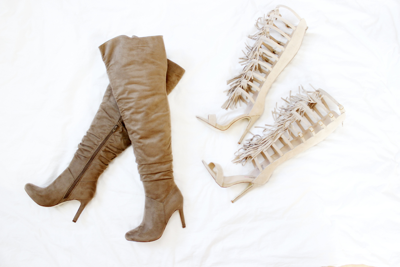 bezauberndenana-fashionblog-februar-favoriten-justfab-overknees-taupe-gladiatoren-heels-fransen
