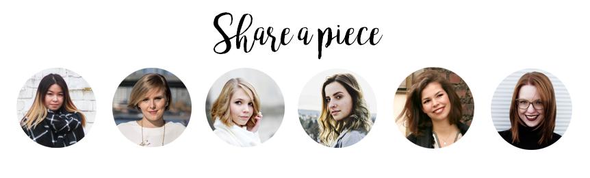 Share-a-piece-Blogger