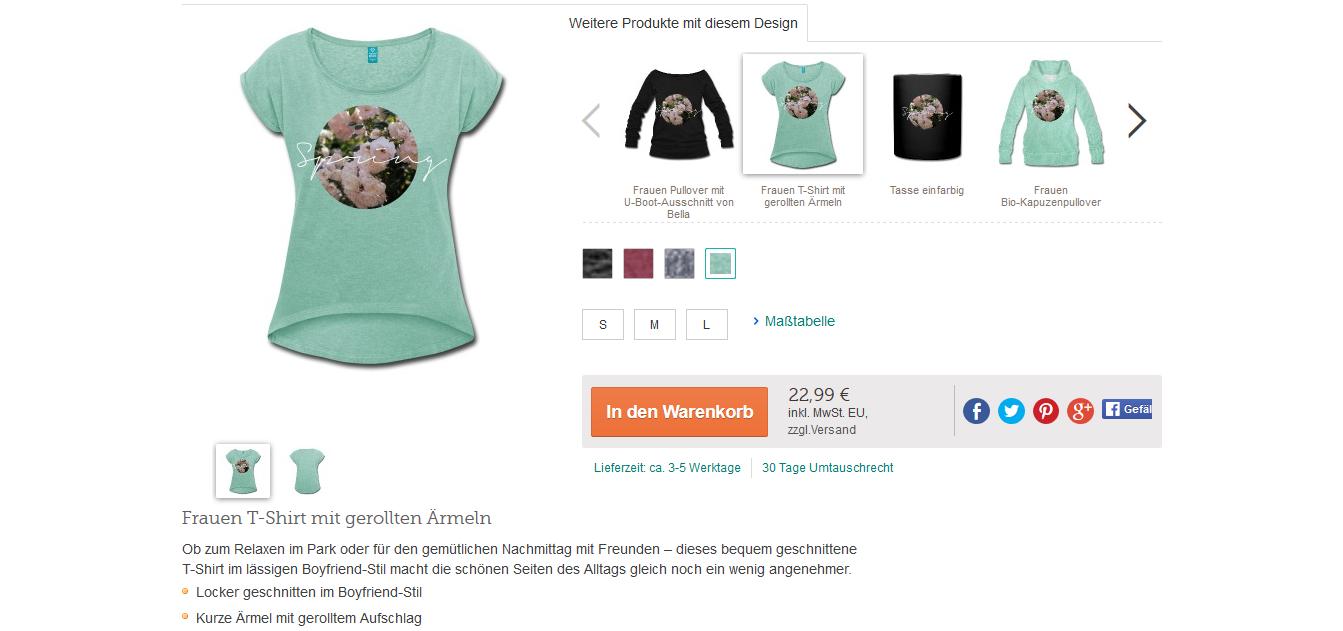 Bezaubernde Nana, bezauberndenana.de, Fashionblog, Modeblog, Germany, Deutschland, Lifestyleblog, Spreadshirt, Designer auf Spreadshirt, Spreadshirt Shop, T-Shirts selbst gestalten