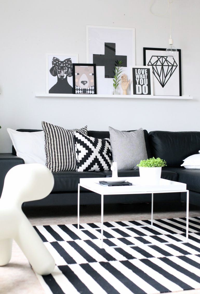 Wohntrends 2016 Schwarz Weiß Interior Einrichtung Dekoration