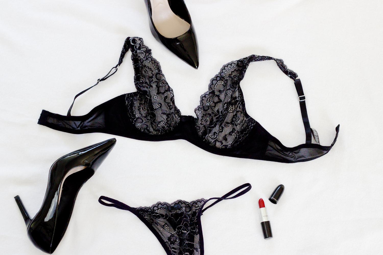 Bezaubernde Nana, bezauberndenana.de, Fashionblog, Unterwäsche Trends, Dessous, Lingerie, Was trägt Frau drunter, schwarze Spitzen Unterwäsche, Spitzen BH