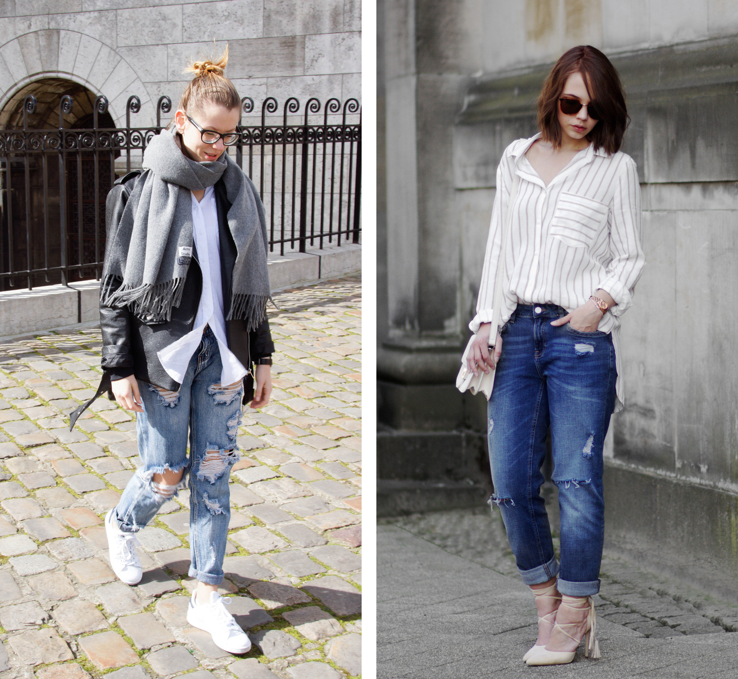 Bezaubernde Nana, bezauberndenana.de, Fashionblog, Denim Lookbook, Denim Trends 2016, Jeans Outfits, Girlfriend Jeans, Fashion Equals Science, fashionequalsscience.com