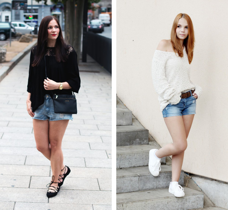 Bezaubernde Nana, bezauberndenana.de, Fashionblog, Denim Lookbook, Denim Trends 2016, Jeans Outfits, Jeans Latzhose, Jeans Shorts, Kleidermaedchen, kleidermaedchen.de