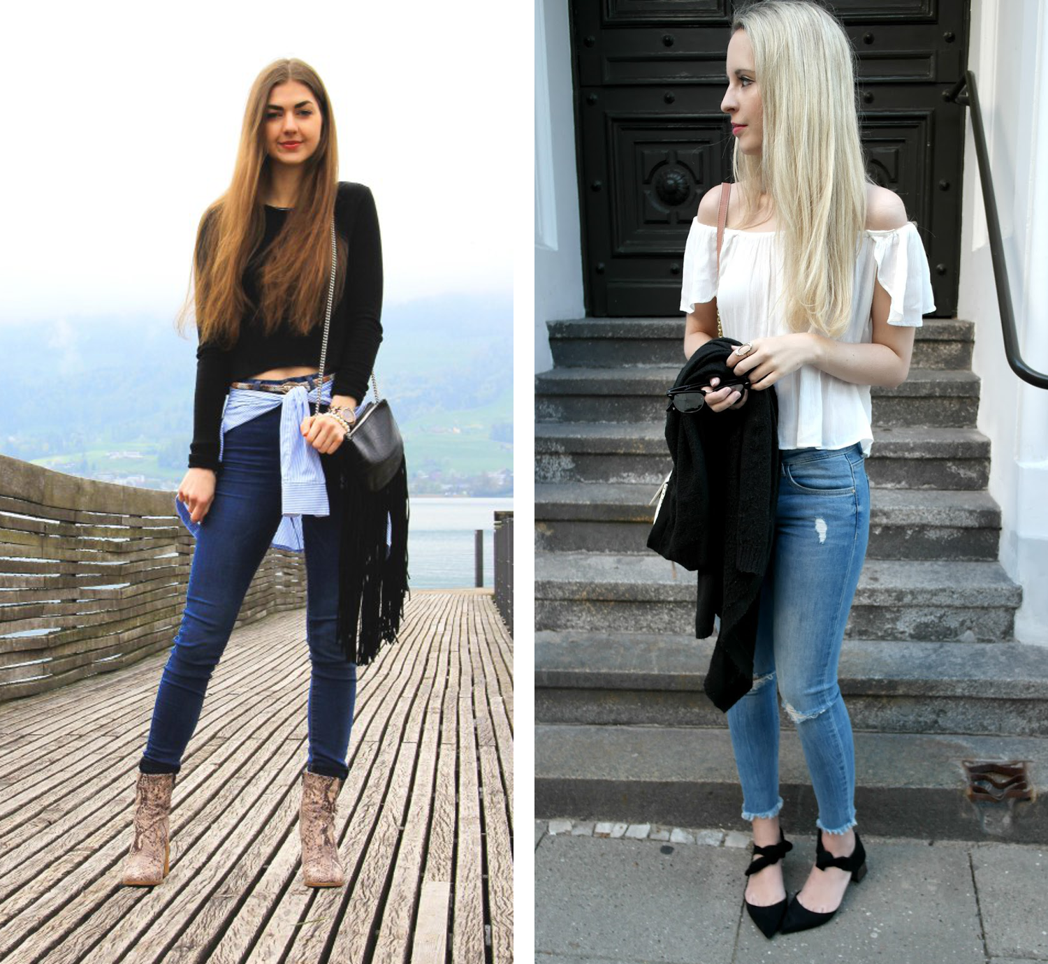Bezaubernde Nana, bezauberndenana.de, Fashionblog, Denim Lookbook, Denim Trends 2016, Jeans Outfits, Skinny Jeans, Carmitive, carmitiv.com, The Blonde Journey, theblondejourney.com