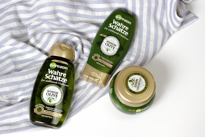 Bezaubernde Nana, bezauberndenana.de, Beauty, Garnier Neuheiten, Garnier Wahre Schätze Mythische Olive, Haarpflege, Review, Erfahrung, Test