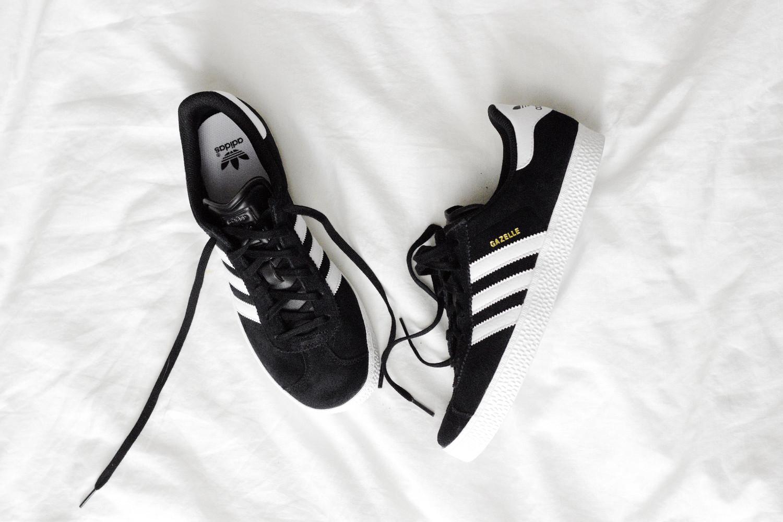 Bezaubernde Nana, bezauberndenana.de, Monatsrückblick, August Favoriten, Adidas Gazelle, Sneaker