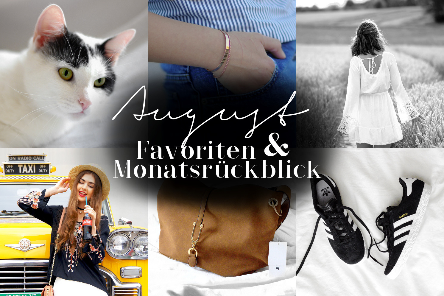 August Favoriten & Monatsrückblick