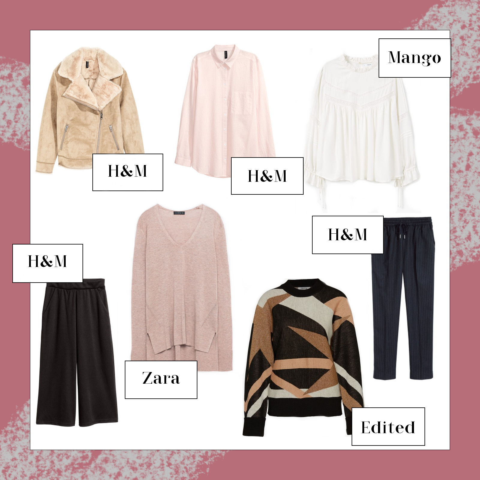 Mode Neuheiten, September Favoriten 2016, Monatsrückblick, H&M, Edited, Mango, Zara, bezauberndenana.de