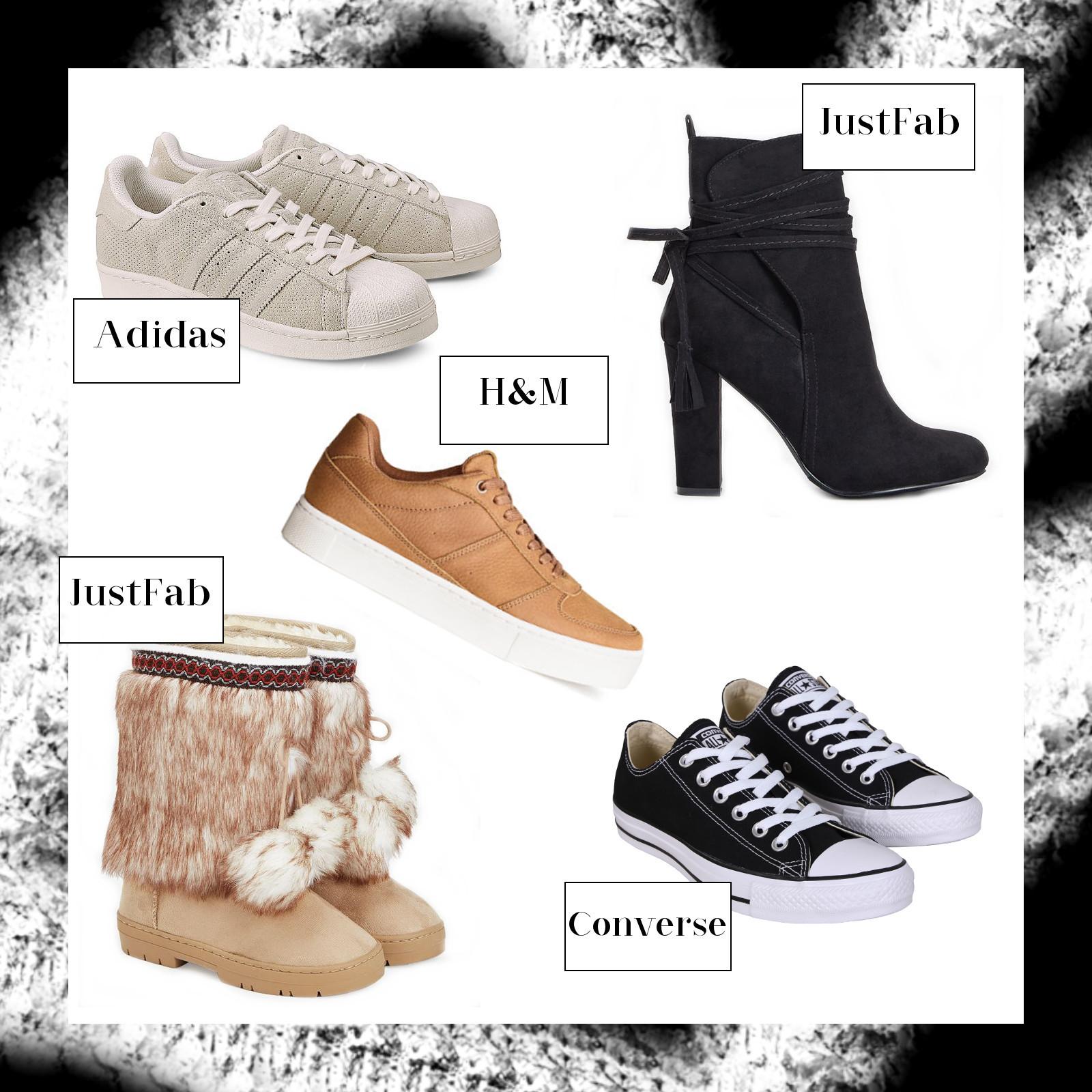 Schuh Neuheiten, September Favoriten 2016, Monatsrückblick, Adidas, Converse, JustFab, H&M, bezauberndenana.de