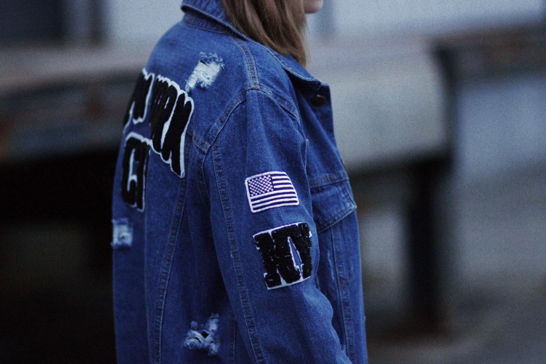 pretty nice 72570 16e57 bezauberndenana-outfit-boyfriend-jeansjacke-mit-patches ...