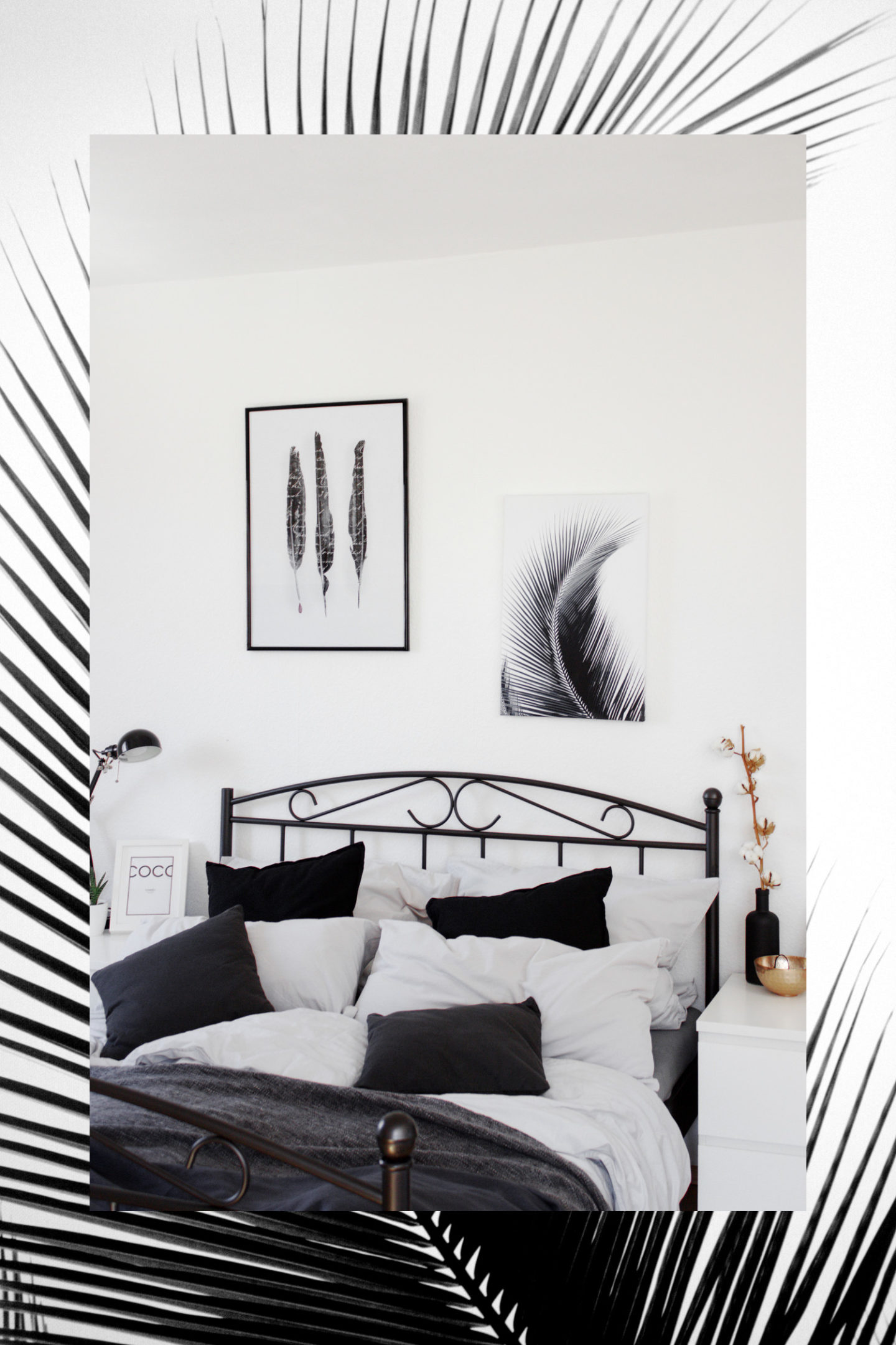 Bezauberndenanawandbilderschlafzimmerminimalistischinterior - Wandbilder für schlafzimmer