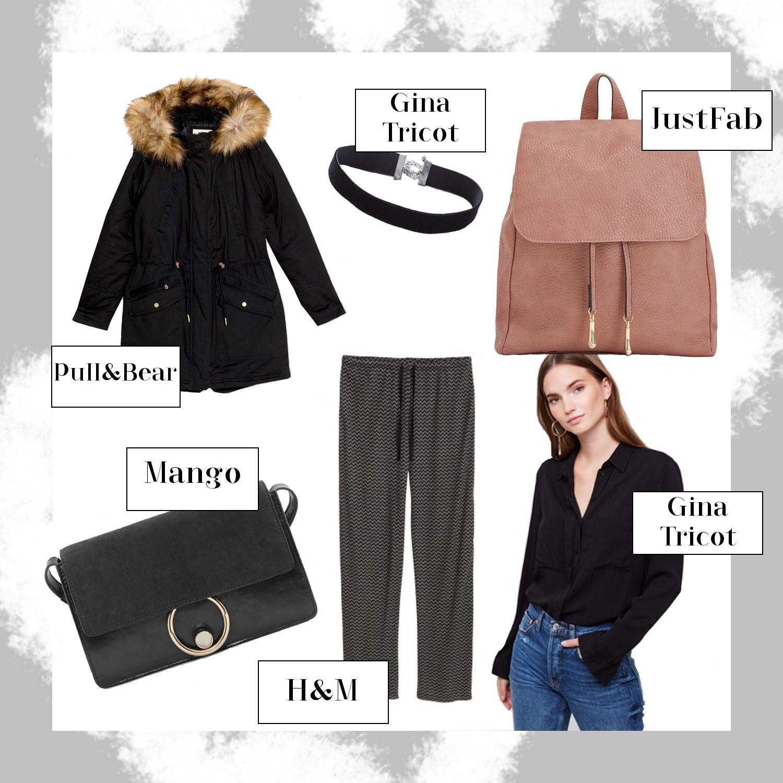 Oktober Favoriten 2016, Monatsrückblick, Mode Neuheiten, schwarzer Parka, rosa Rucksack, bezauberndenana.de