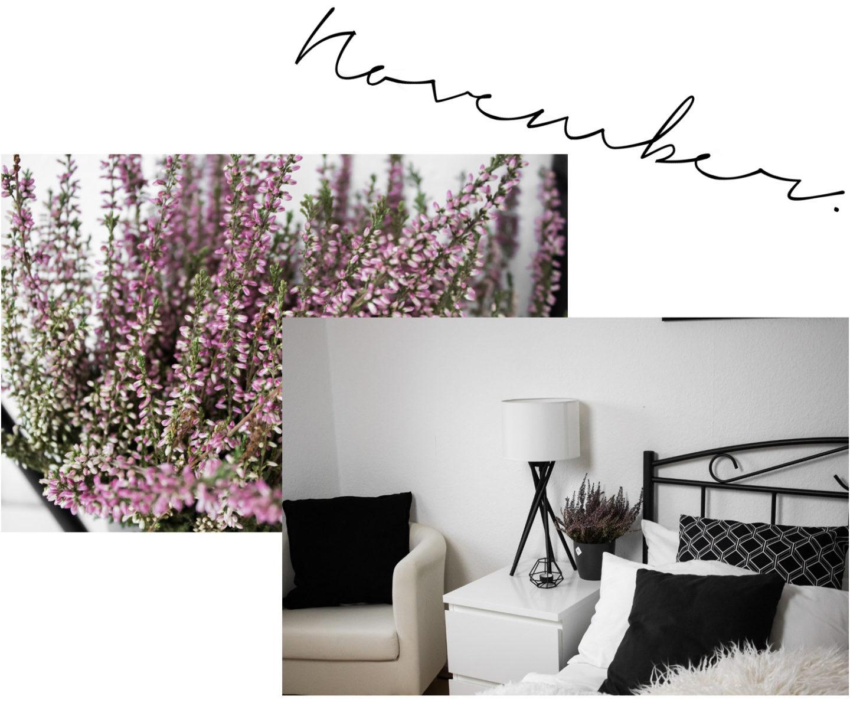 Herbst Dekoration Einrichtung Wohnen Minimal Interior Schlafzimmer