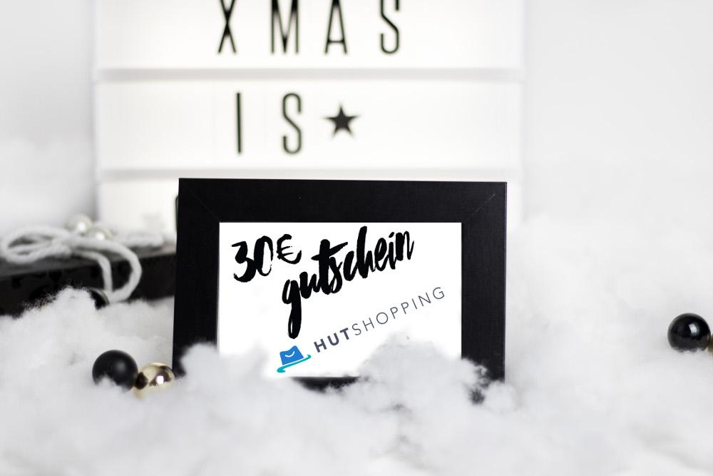 Bezaubernde Weihnachten Gewinnspiel, Blogger Adventskalender, 30€ Gutschein von Hutshopping, bezauberndenana.de