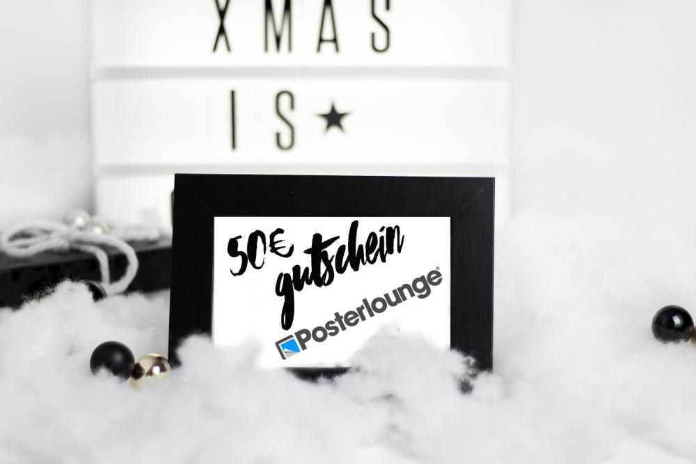 [Bezaubernde Weihnachten Gewinnspiel] 50€ Gutschein von Posterlounge