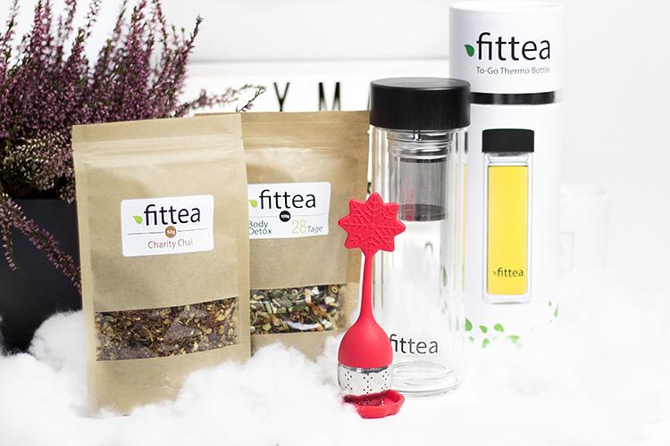 Bezaubernde Weihnachten Gewinnspiel, Blogger Adventskalender, Tee-Set von Fittea, Body Detox, Thermoskanne, Tee-Ei, bezauberndenana.de