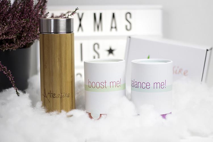 Bezaubernde Weihnachten Gewinnspiel, Blogger Adventskalender, Tee-Set von Teasire, Soul Kur, Bambus Thermoskanne, bezauberndenana.de