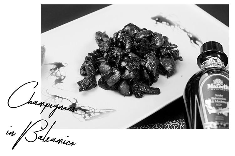 Mazzetti L'originale Aceto Balsamico, Rezepte für Weihnachten, winterliches Rezept, karamellisiertes, Festtagsrezept, Chamignons in Balsamico, bezauberndenana.de
