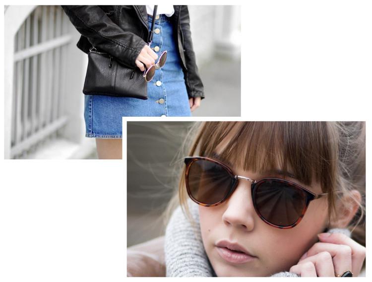 Meine wahren Mode Favoriten 2016, Jeansrock von Asos, Sonnenbrille von Cheapass Sunglasses, bezauberndenana.de