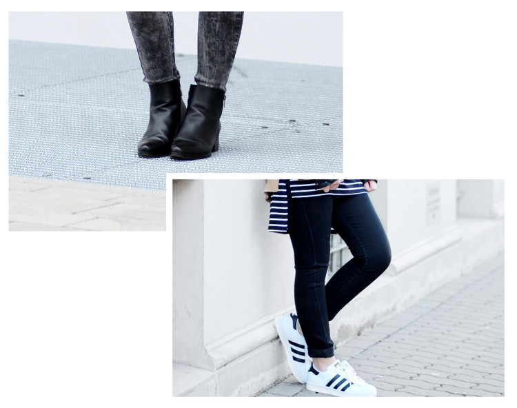 Meine wahren Mode Favoriten 2016, schwarze Stiefeletten von Schuhtempel24, schwarze Jeans von H&M, bezauberndenana.de