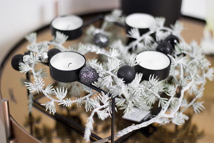 Minimalistische Weihnachtsdeko in Kupfer und Schwarz, Christmas decoration, dekoration, bezauberndenana.de
