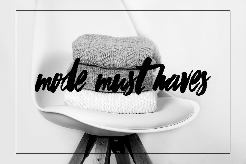 Meine Mode Must Haves für den Winter