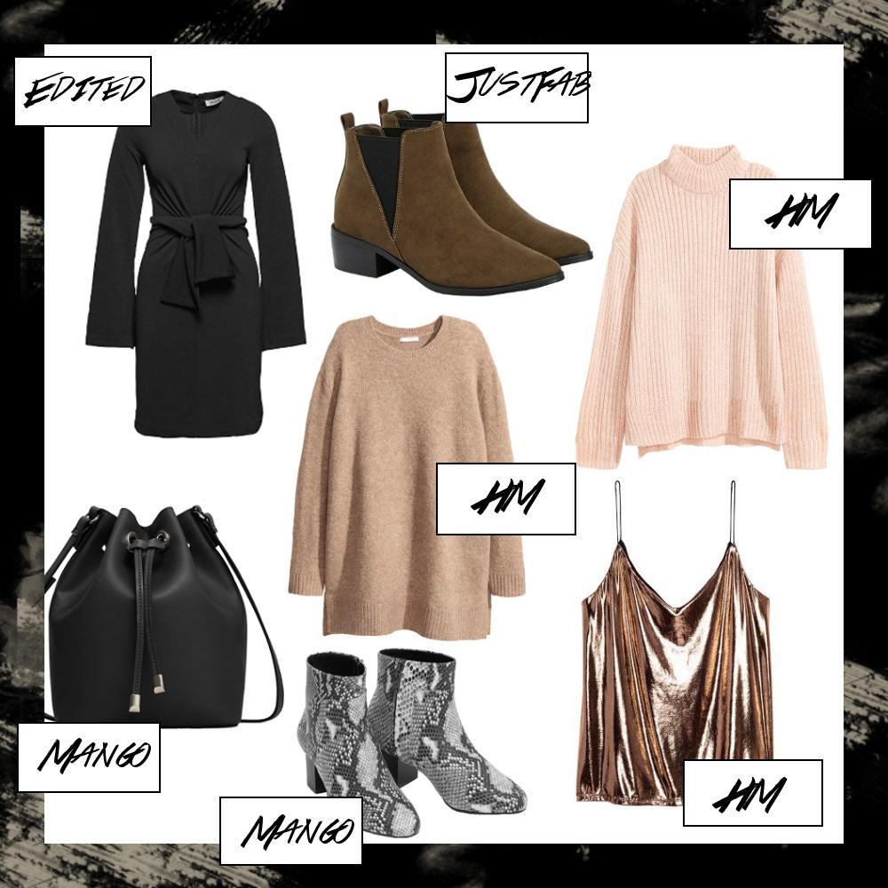 Dezember Favoriten 2016, Monatsrückblick Dezember, Mode Favoriten, Haul, New In, bezauberndenana.de
