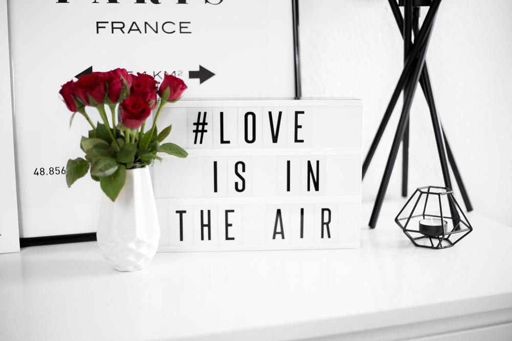 Ideen für eine romantische Valentinstag Deko