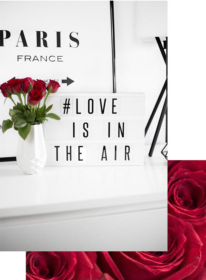 ideen f r eine romantische valentinstag deko bezaubernde. Black Bedroom Furniture Sets. Home Design Ideas