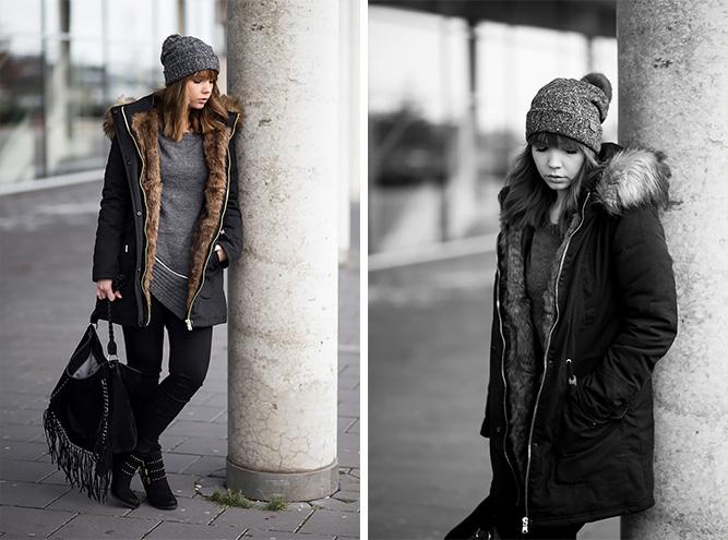 winter-outfit-schwarzer-parka-strickullover-mit-reißverschluss-schwarze-jeggings-nieten-stiefeletten-streetstyle-bezauberndenana (6)