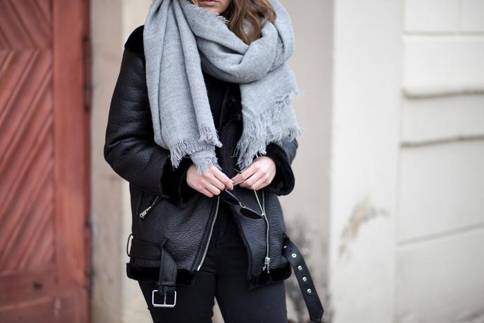 Januar Favoriten 2017, Mode Favorit, Zara Shearling Jacke, bezauberndenana.de