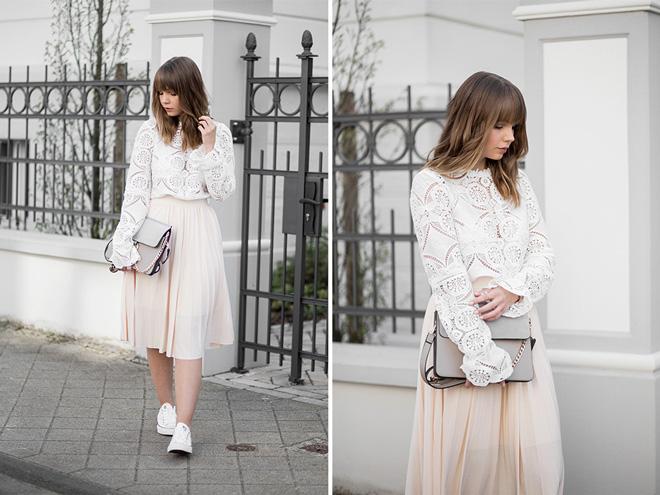 outfit-mit-spitzen-bluse-vila-rosa-midi-rock-anna-und-ella-weiße-coverse-sneaker-about-you-frühlingsoutfit-chloe-faye-bag-lookalike-bezauberndenana-(4)