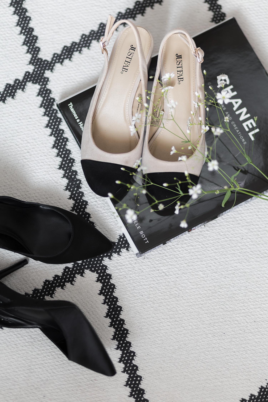 Sommer Schuhtrends 2017, Slingback Pumps von Zara, Chanel Lookalike, bezauberndenana.de