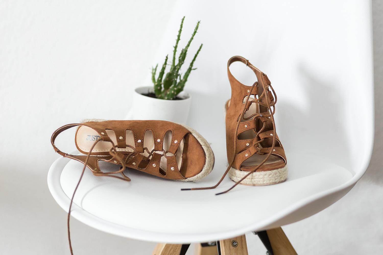 Sommer Schuhtrends 2017, Wedge Espadrilles, Sandalen mit Keilabsatz von JustFab, bezauberndenana.de