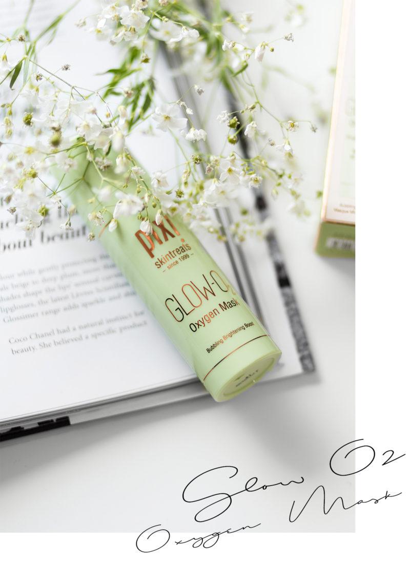 Neuheiten von Pixi, Glow-O2 Oxygen Mask Erfahrung, Hautpflege im Test, strahlende Haut im Sommer, Review, Skincare, Beauty, bezauberndenana.de