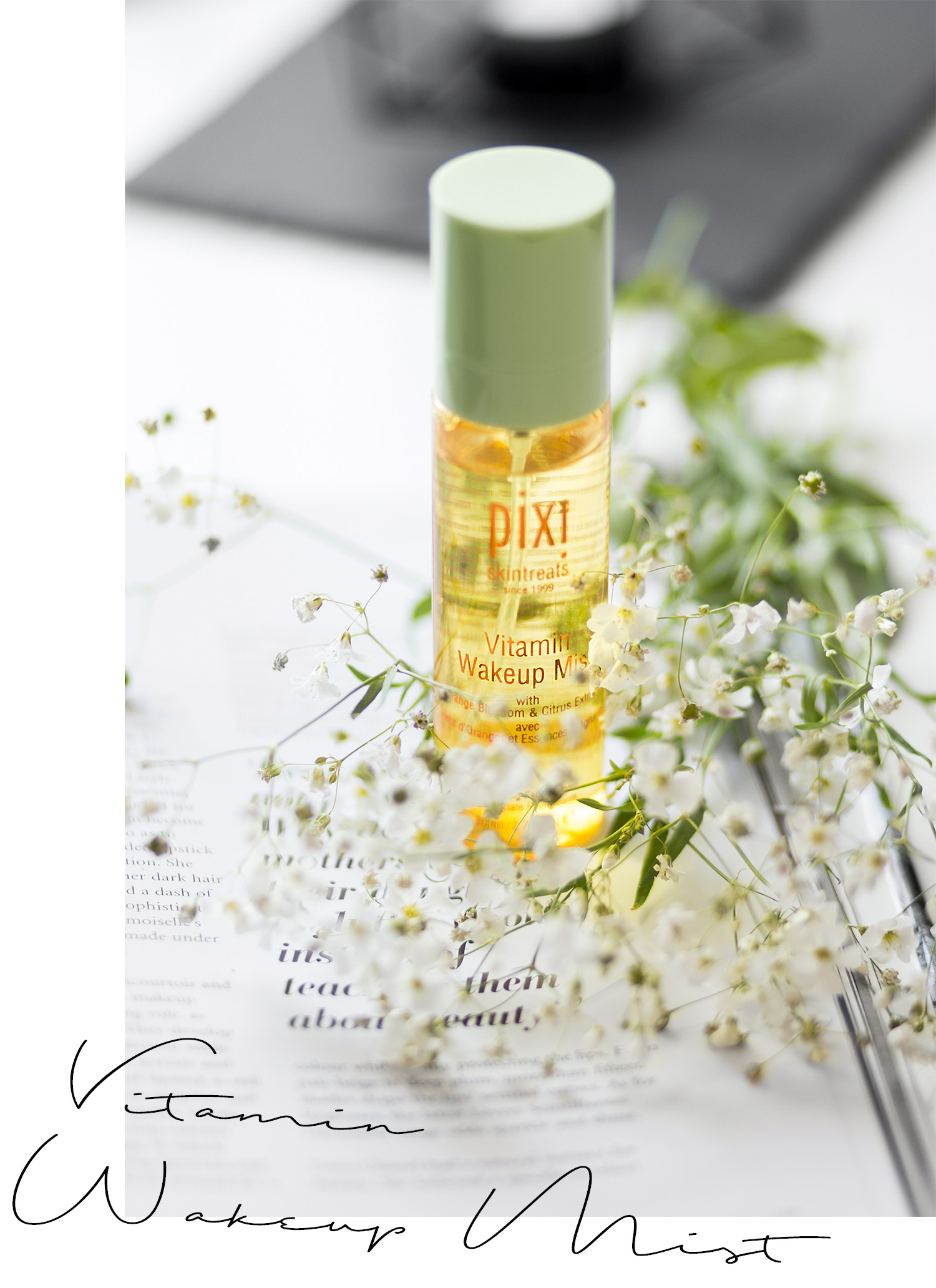 Neuheiten von Pixi, Vitamin Wakeup Mist Erfahrung, Hautpflege im Test, strahlende Haut im Sommer, Review, Skincare, Beauty, bezauberndenana.de