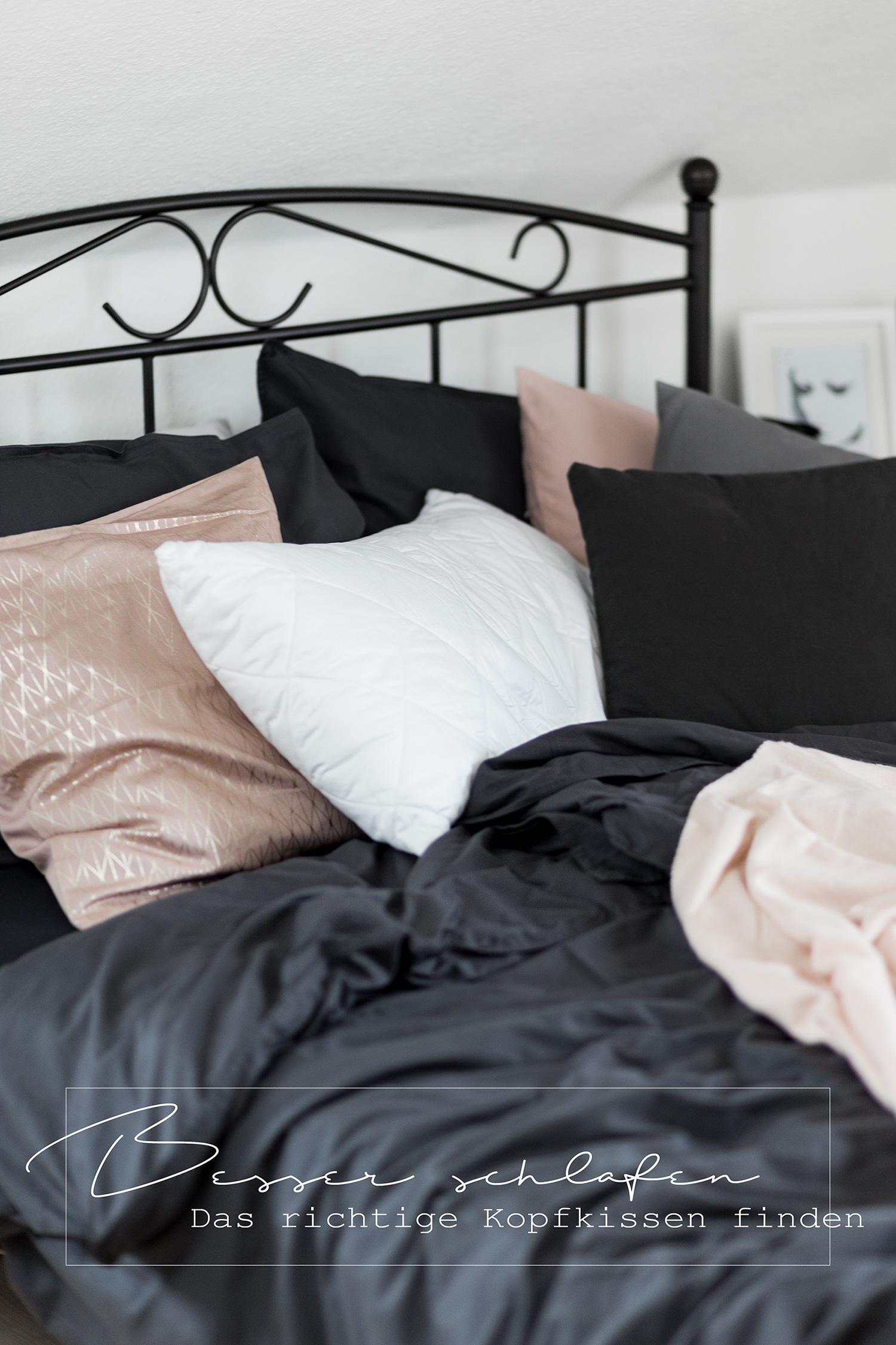 besser schlafen das richtige kopfkissen finden bezaubernde nana. Black Bedroom Furniture Sets. Home Design Ideas