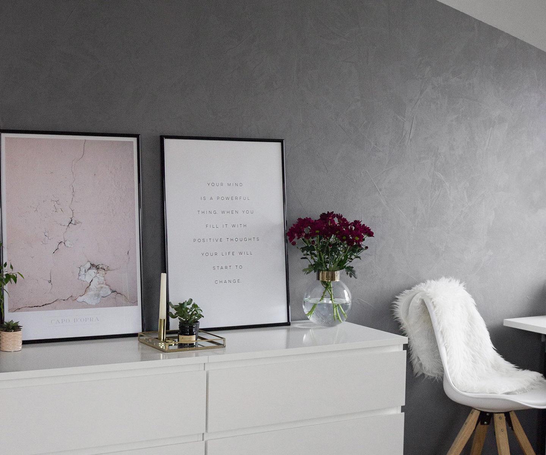 betonwand selber machen alpina beton optik erfahrungen diy concrete wall bezauberndenana 7. Black Bedroom Furniture Sets. Home Design Ideas