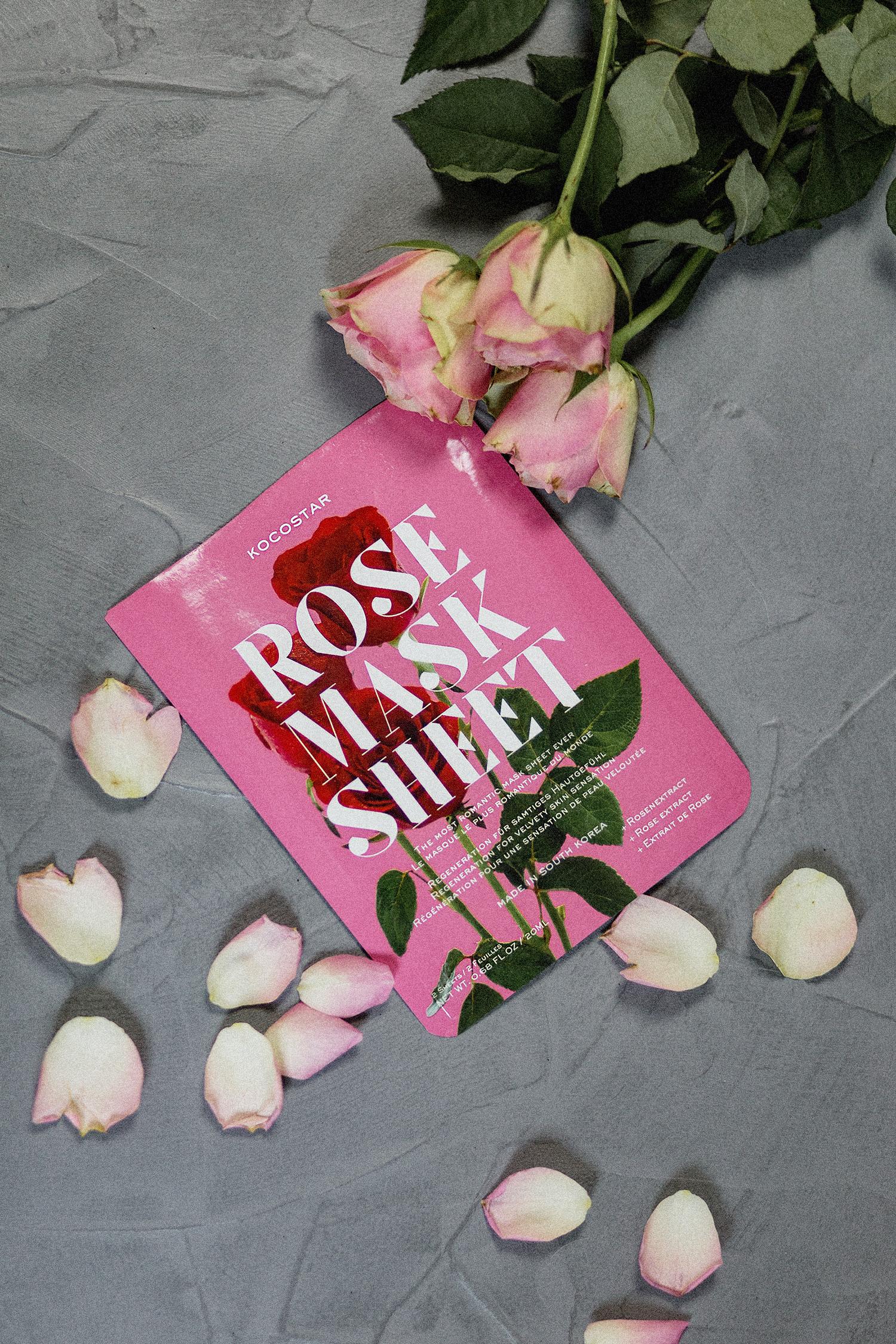 Oktober Favoriten 2017, Monatsrückblick, Kocostar Rose Sheet Mask Test, Erfahrung, Review, bezauberndenana.de