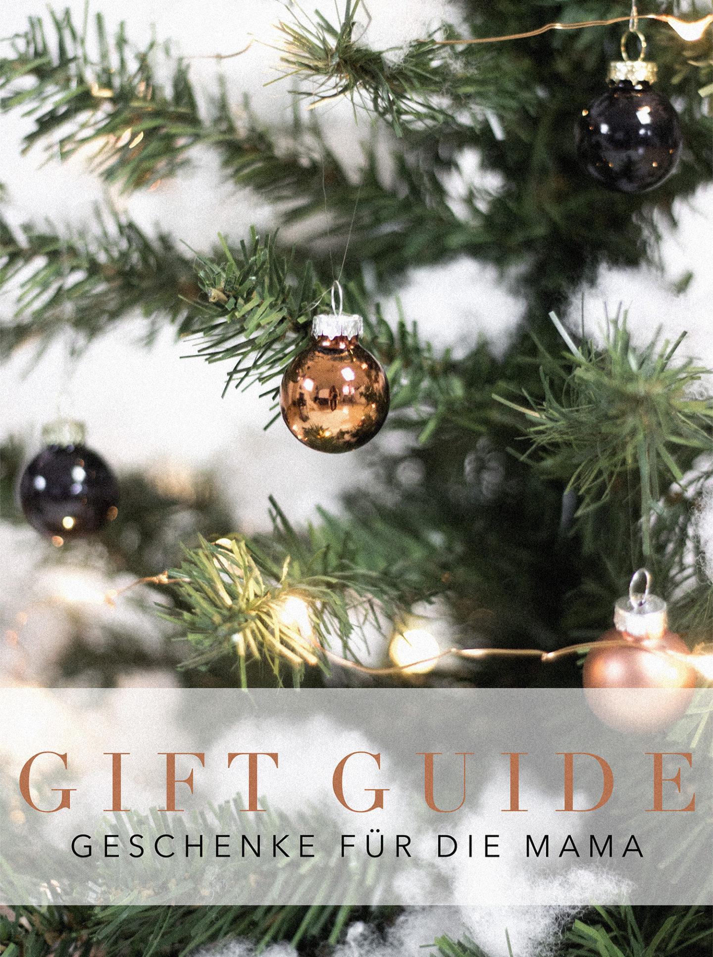 Gift Guide – Geschenke für die Mama