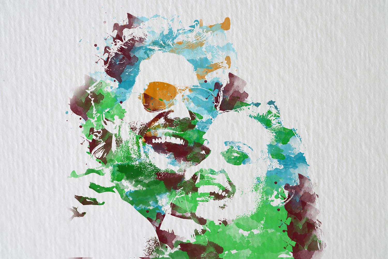 ArtYourFace Gewinnspiel, Persönliches Kunstwerk, Brush Color, bezauberndenana