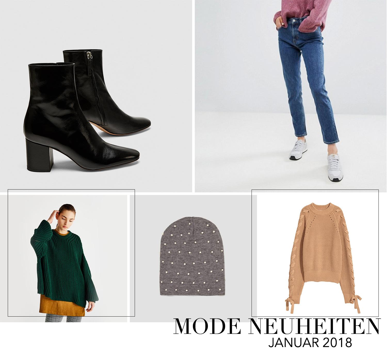 Januar Favoriten 2018, Monatsrückblick, Mode Neuheiten, Zara Stiefeletten, Weekday Mom Jeans, Perlen Mütze, bezauberndenana.de