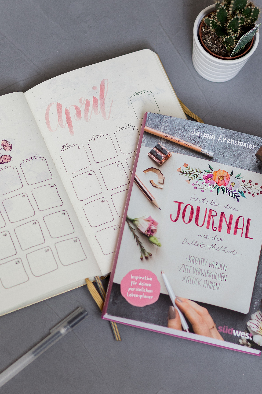 Mai Favoriten 2018, Monatsrückblick, Buch Tipp, Gestalte dein Journal mit der Bullet Methode von Jasmin Arensmeier, bezauberndenana.de